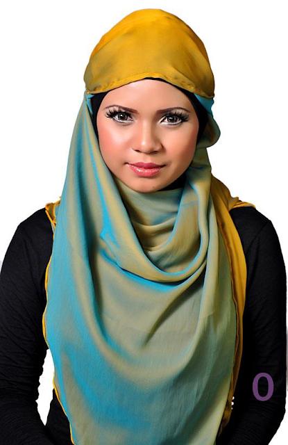 Hijab doré