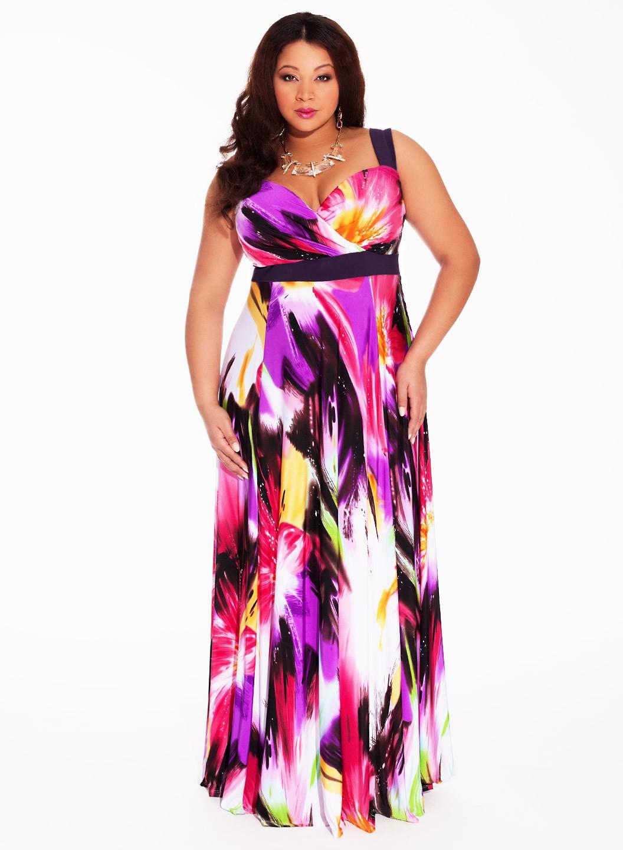 Plus Size Maxi Dresses With Sleeves Canada - raveitsafe