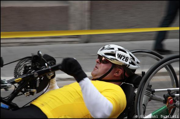Fotografia dell'atleta Buraccioni Luca alla Maratona di Roma 2013