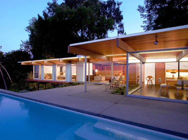 White floors some shining examples of mid century modern homes in america - Mid century modern homes ...