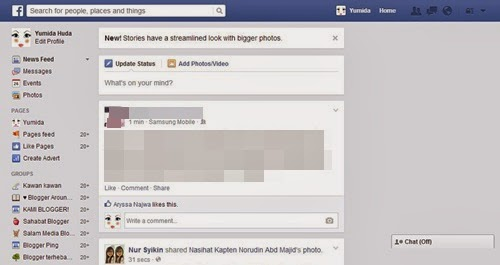 bentuk facebook, gambar facebook