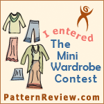 I've Entered the Pattern Review Mini Wardrobe Contest