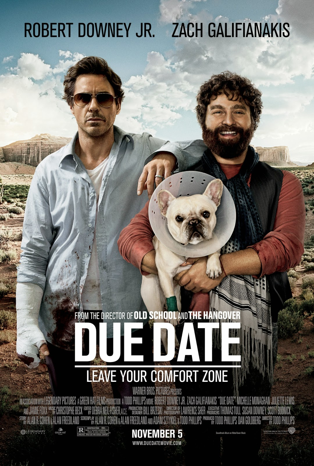 due date movie clips http j mp 1crln3b buy the movie http amzn to ...