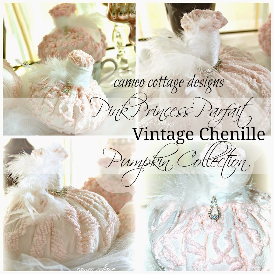 Pink Princess Parfait Chenille Pumpkin Collection