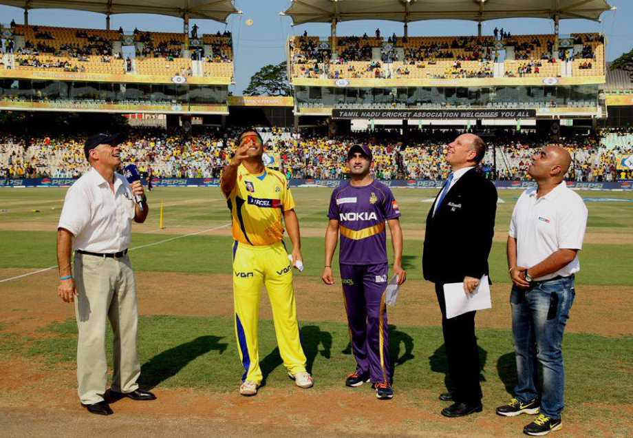 Mahendra-Singh-Dhoni-Gautam-Gambhir-CSK-vs-KKR-IPL-2013