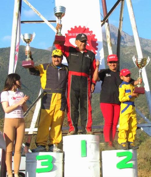 CAMPEONES 2013 TURISMO OLMUE 1650cc