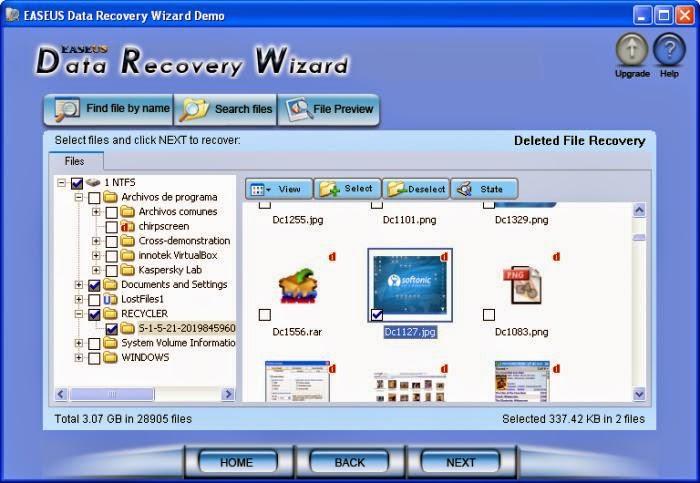 easus data recovery wizard software untuk memulihkan data yang terhapus