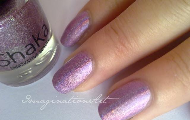 shaka hologram olografico violet viola ref 03 swatch smalto unghie nail polish lacque