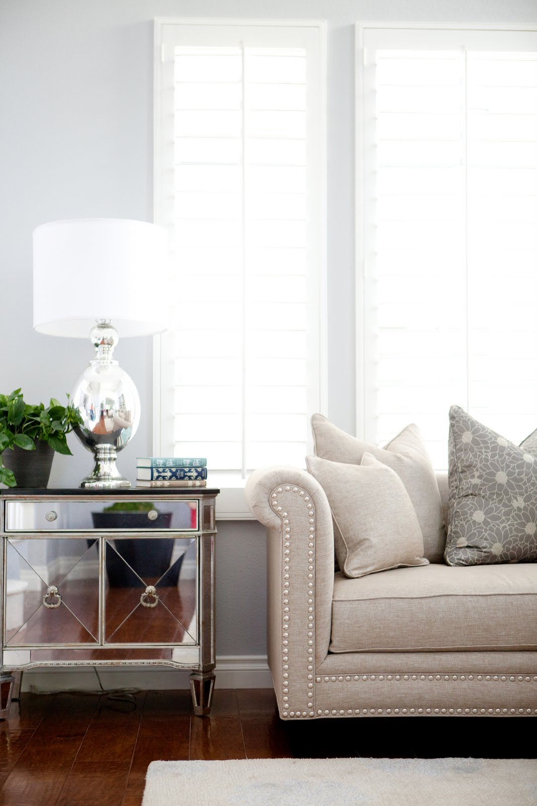 Bdg Style Old Hollywood Glam Meets Oc Living Room