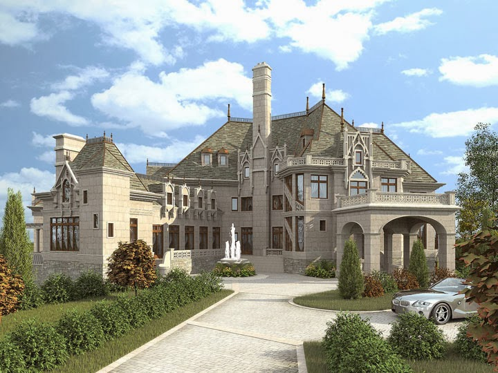 Design castle home for Castle style homes