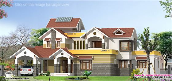 Beautiful modern home elevation design - Kerala home design and ...