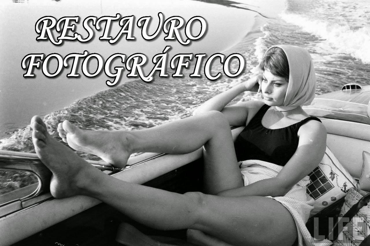 RECUPERAÇÃO de FOTOS ANTIGAS