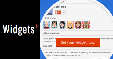 Membuat Widget Google+ Dari WidgetsPlus di Blog