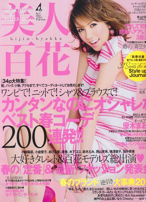Bijin Hyakka (美人百花) April 2013 Mika  美香