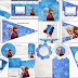 Frozen Birthday with Snow: Free Party Printables.