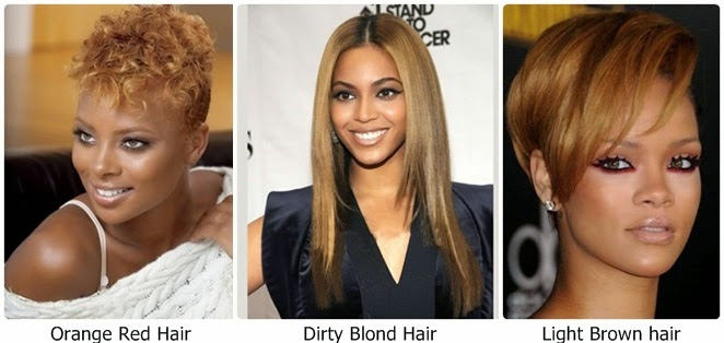 Hair color ideas for light skin tone women