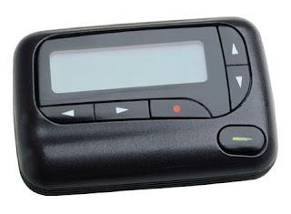 Aparelho Pager - comunicador famoso nos anos 90.