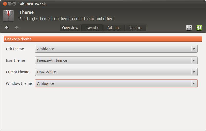 Fitur untuk mengubah setingan GNOME 3