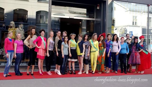 1.5km fashion show in Riga