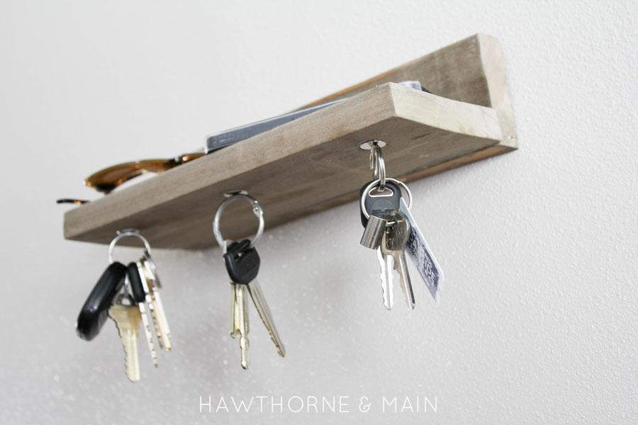Barn Wood Magnetic Key Holder u2013