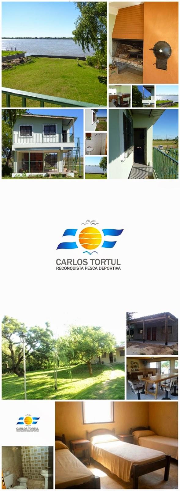 Cabañas en la Isla y en la ciudad de Rqta. con excelentes servicios