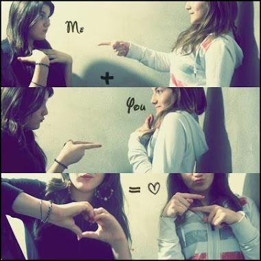 Me + you = ♥