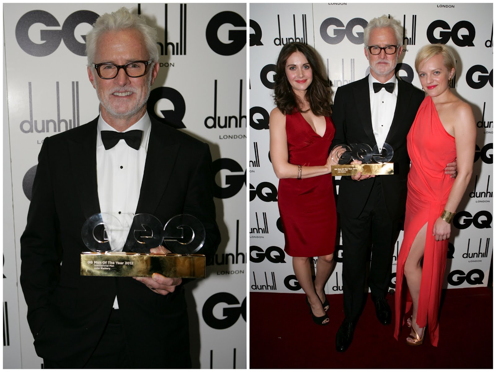 00O00 London Menswear Blog John Slattery Mad Men GQ Men Of The Year 2012 Alfred Dunhill Jimmy Choo