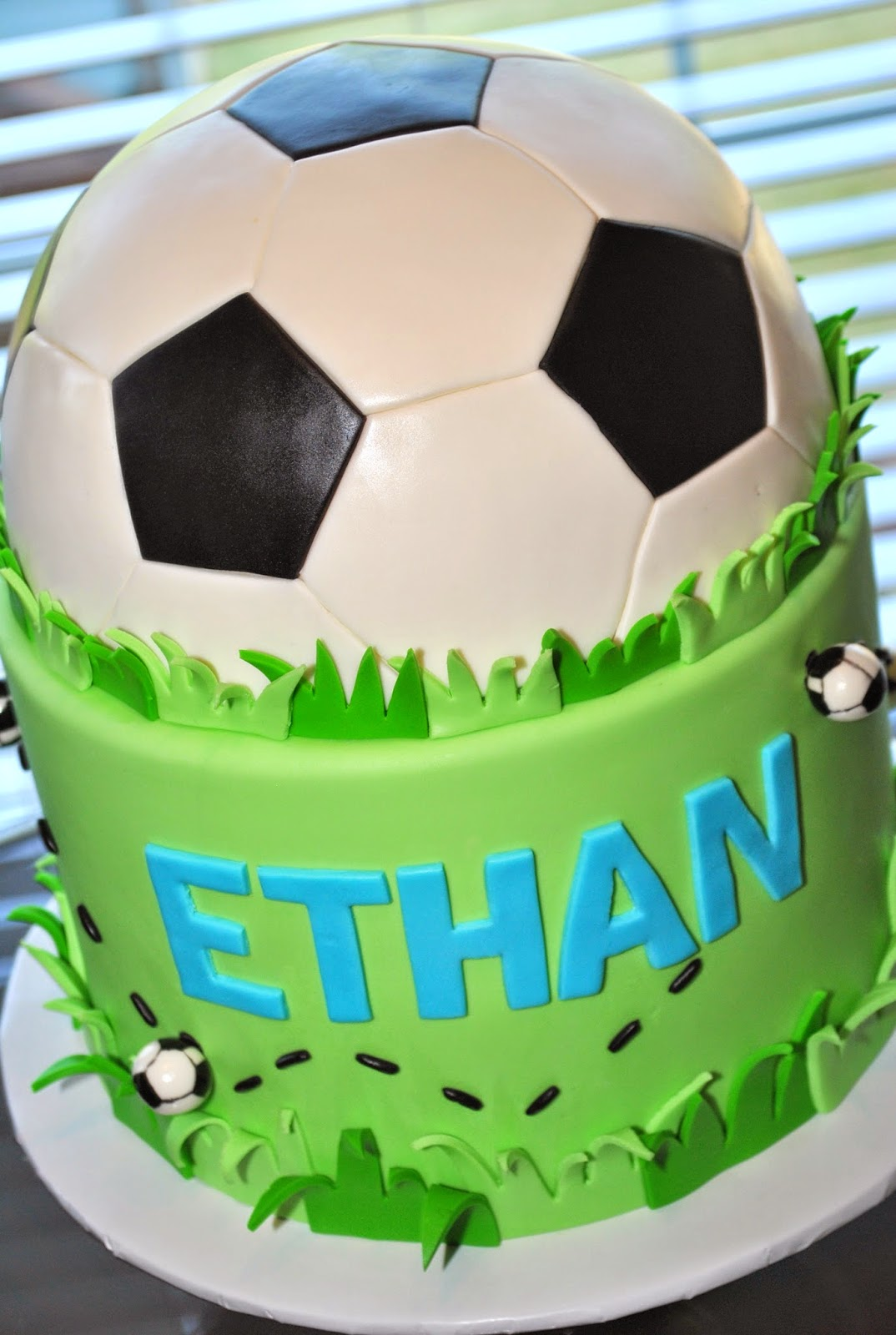 Cool Soccer Birthday Cakes