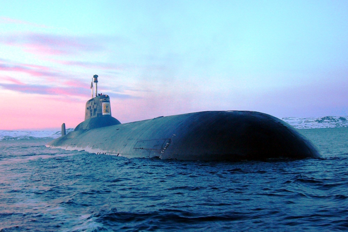 RFS Dmitry Donskoy TK-208 Russian Submarine 1