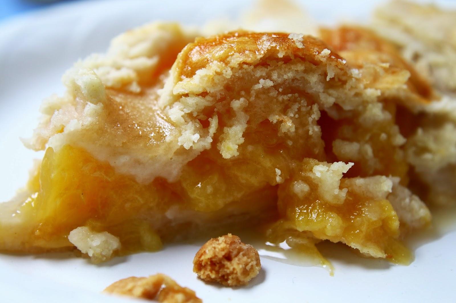 civil war peach pie recipe