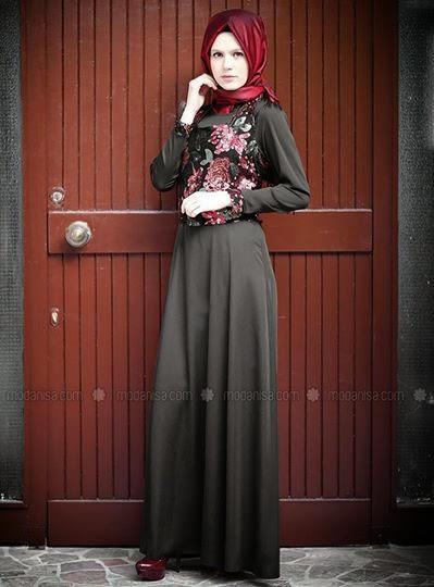 Robe Hijab turque