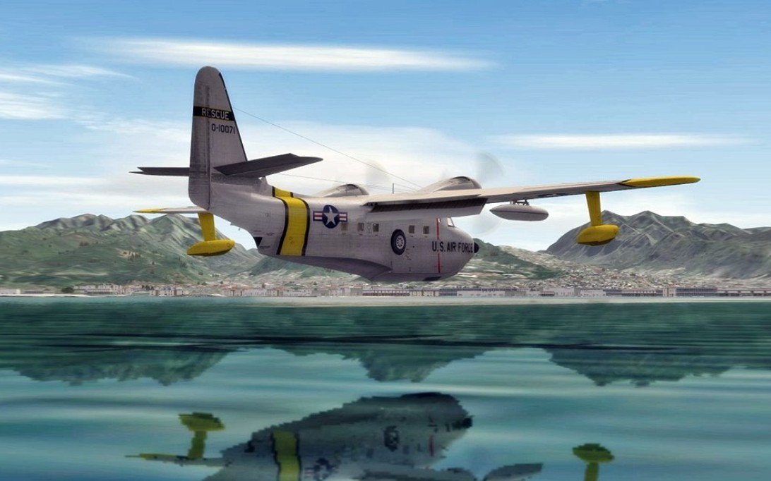HU-16 Albatross Amphibious Aircraft Wallpaper 3