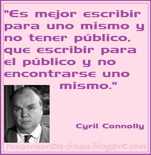 frases de Cyril Connolly