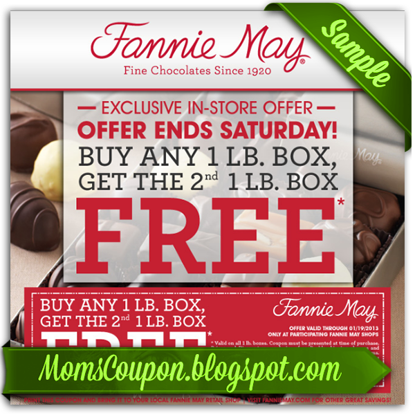 Fannie may candy coupons online