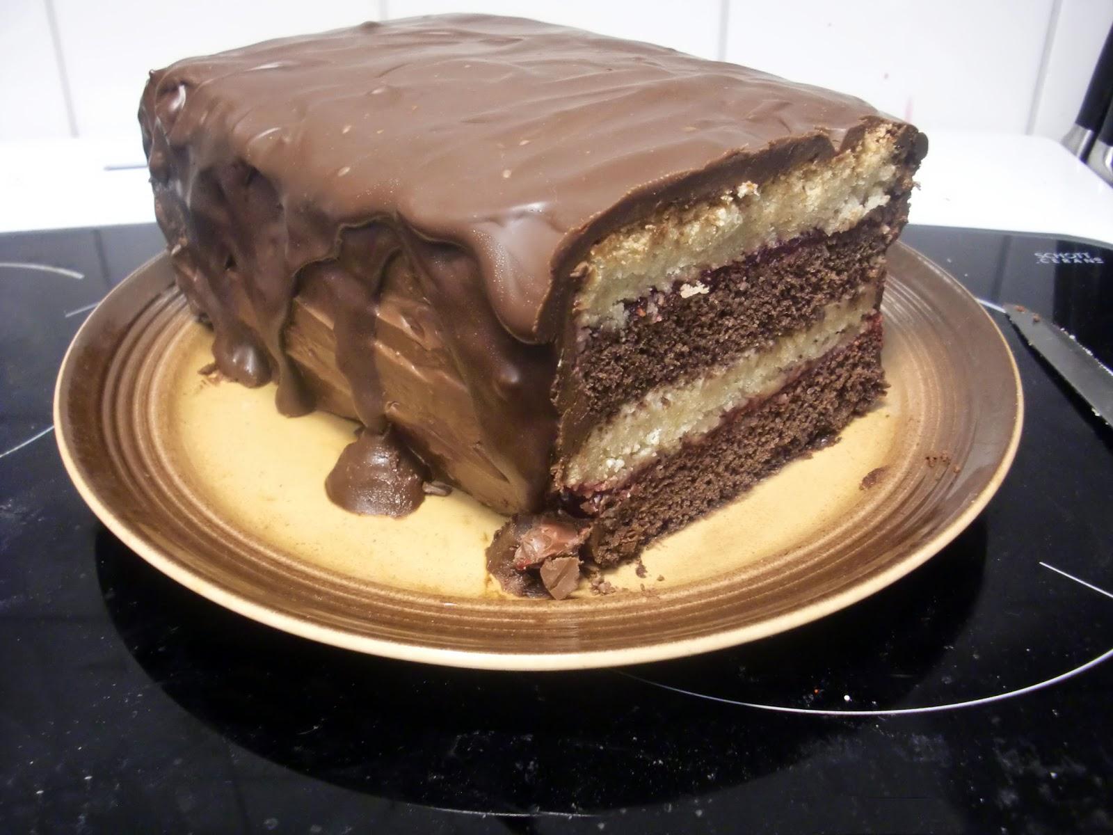 chokladöverdrag till tårta