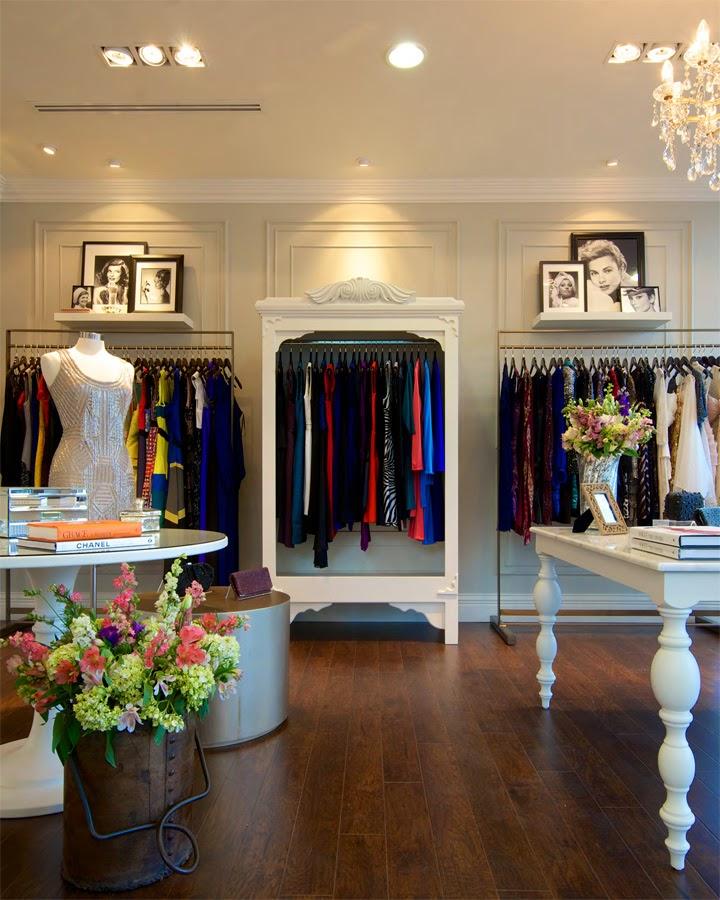 Interior Butik Dress Gaya Klasik 3