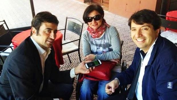 2) Andrea Ferrero e Andrea Mameli intervistano Cinzia Mocci