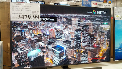 Samsung UN65JS850D 65in tv features sharp picture