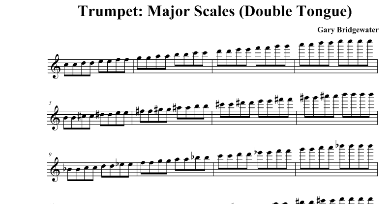 How to Double Tongue on Trumpet
