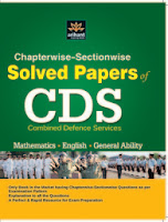 CDS Chapter wise - Section wise Solved Papers