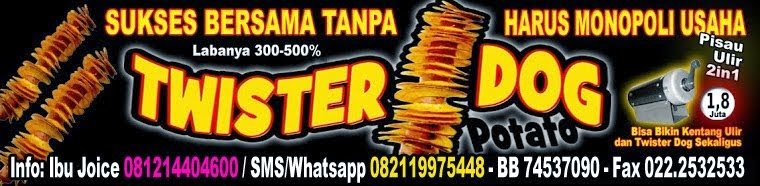 PROPOSAL LENGKAP USAHA SPIRAL TORNADO TWISTER POTATO - KENTANG ULIR