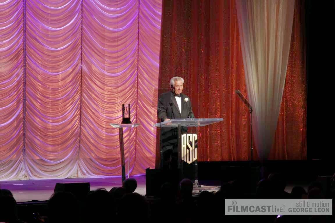 Matthew Leonetti received ASC Presidents Award ©george leon/filmcastlive