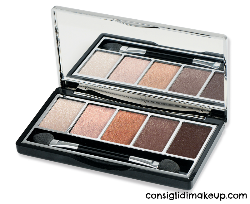vamp palette pupa milano 005 nude gold edition