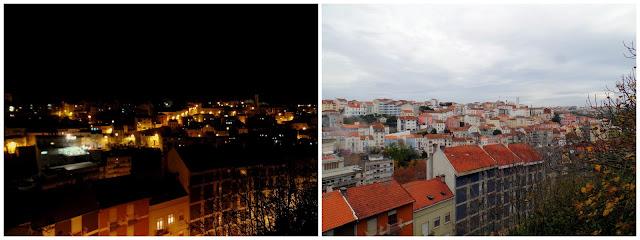 dia noite noche coimbra portugal