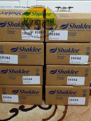 Testimoni Vitamin C Shaklee,Set kecantikan Shaklee, Set D Shaklee,putihkan kulit dengan vitamin C