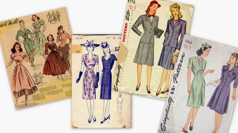 moda-feminină-a-anilor-40