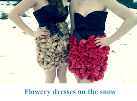 Napisali o nas - Flowery dresses on the snow, GardenLove: