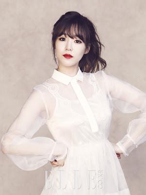 Tiffany Hwang SNSD Girls' Generation Elle Magazine June 2013