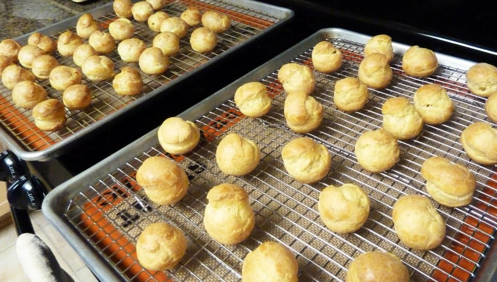 mini puffs both savory and sweet p 226 te 224 choux vera s cookbook