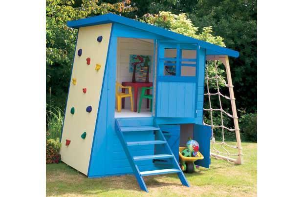 Woodwork playhouse plans cheap pdf plans for Cheap playhouse kits